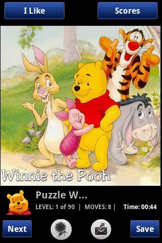 Puh Puzzles Android Brain & Puzzle