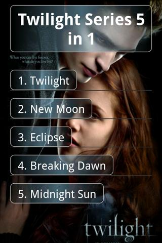 Twilight Series 5 in 1(eBook) Android Arcade & Action