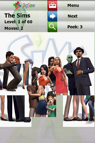 The Sims Puzzle : Jigsaw Android Brain & Puzzle