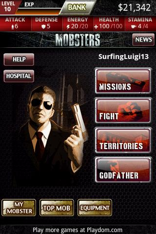 Mobsters:  Big Apple Android Arcade & Action