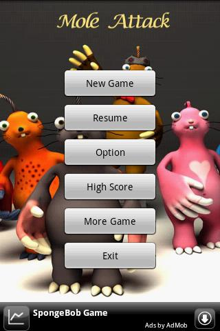 Mole Attack Android Arcade & Action
