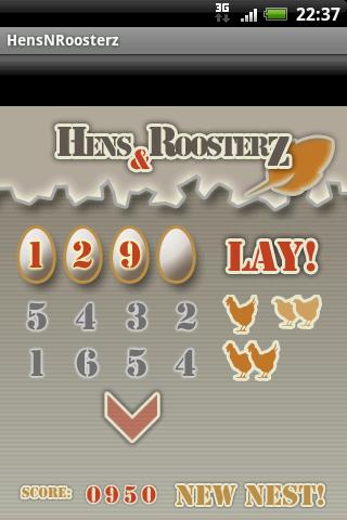 HensNRoosterz Android Brain & Puzzle
