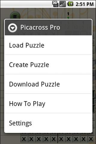 Picacross Plus Android Brain & Puzzle