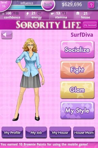 Sorority Life Android Casual