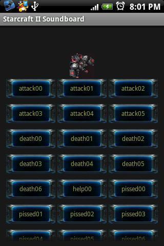 Starcraft II EN Soundboard Android Casual