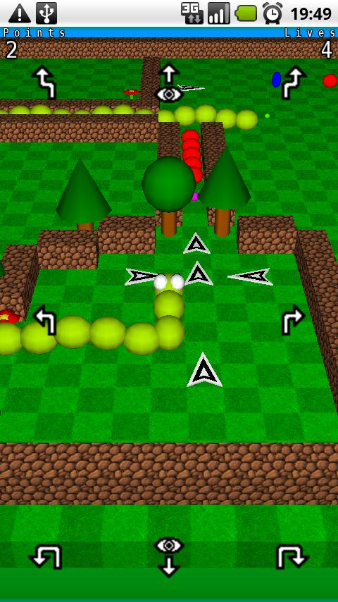 Snake3D preview Android Arcade & Action