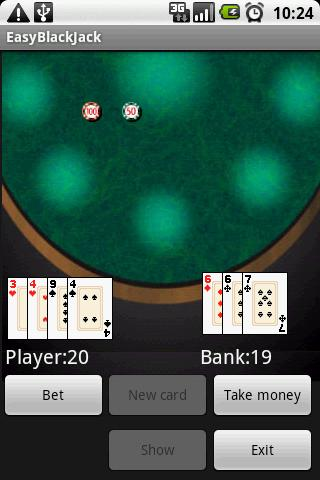 Easy Black Jack Android Cards & Casino