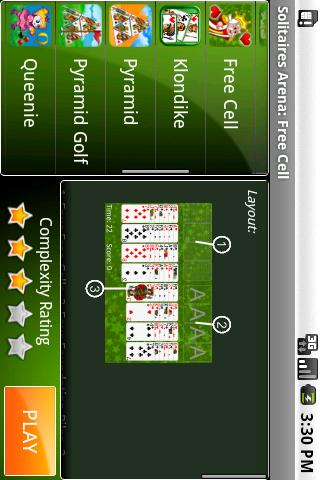 Solitaires Arena Android Cards & Casino