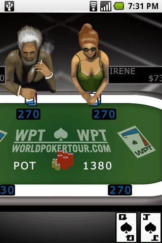 WPT® Texas Hold 'Em 2! Android Cards & Casino