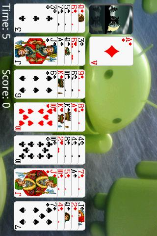 Golf (Turbo) Solitaire Android Cards & Casino