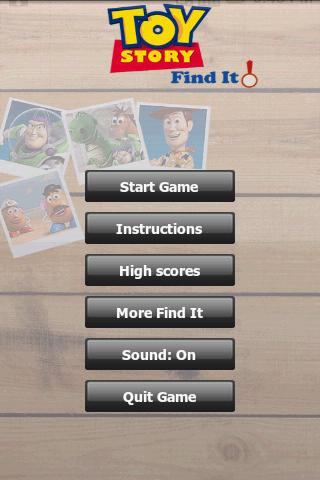 Find It : Toy Story Android Arcade & Action