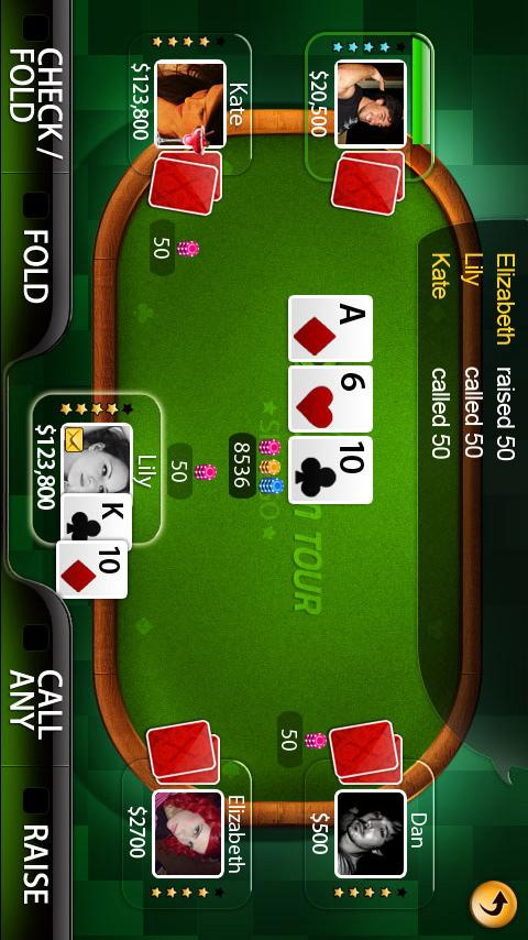 Live Hold'em Tour(Beta) Android Cards & Casino