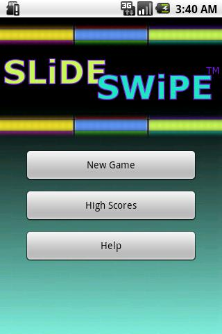 Slide Swipe Android Casual