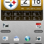 Steelers Official NFL Clock