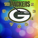 Green Bay Packers Clock Pack