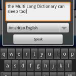 MultiLang DictionaryTranslator