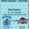 New Orleans Hornets Countdown