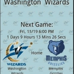 Washington Wizards Countdown