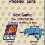 Phoenix Suns Countdown