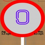GPS Speed HUD