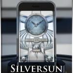 SILVERSUN clock widget theme