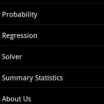 Mobile Statistics Professor