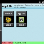 App 2 SD Pro move apps to SD