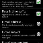 netMemo Plus Voice Recorder