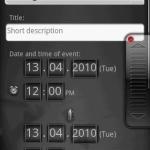 Gemini Calendar  beta version
