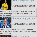Preston NE FC Clocks & News