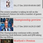 Watford FC Clocks & News