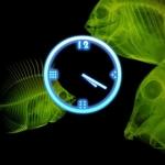 Glow Clock Widget