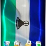 LESOTHO LIVE FLAG