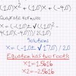 Quick Quadratic Equation