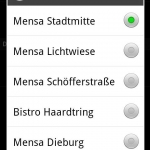 Mensa  TU/HS Darmstadt