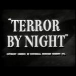 Sherlock Holmes: Terror Night