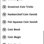 Magic Tricks  Coins