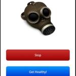 Gas Mask Breathing