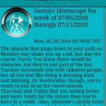 Gemini Daily Horoscope v2