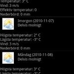 Sveriges väder