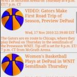 Lady Gators BBall News & Clock