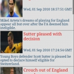 England Football News & Clocks