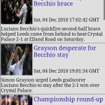 Leeds United AFC Clocks & News