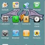 Tulane U. w/ iPhone icons