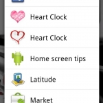 Heart Clock Widget