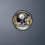 Pittsburgh Steelers Clock Widg