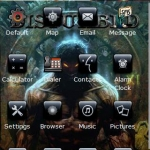 Disturbed 2  Black Icons