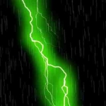 Live Wall: ThunderStorm Green
