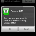 Clear All SMS & MMS