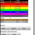 A Resistor Color Reference App
